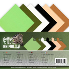 Amy Design Wild Animals 2 Linnenpakket A5 (AD-A5-10019)