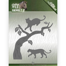 Amy Design Wild Animals 2 Panther Die (ADD10175)