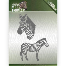 Amy Design Wild Animals 2 Zebra Die (ADD10178)
