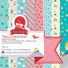 Flavir Design The Little Prince 6x6 Inch Paper Pack (COD.45)