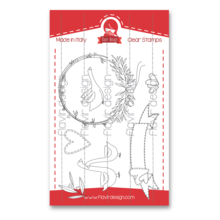 Flavir Design The White Goose Clear Stamps (COD.01)