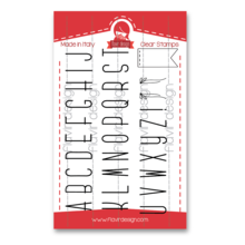 Flavir Design The Alphabet Clear Stamps (COD.04)