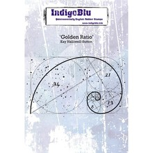 IndigoBlu Golden Ratio A6 Rubber Stamp (IND0502PC)