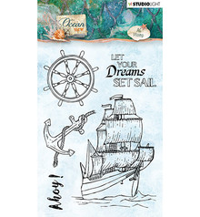 Studio Light Ocean View Clear Stamps (STAMPOV366)