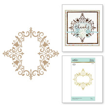 Spellbinders Petite Looking Glass Frame Hot Foil Plate (GLP-126)