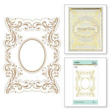 Spellbinders The Contessa's Seal Panel Hot Foil Plate (GLP-129)