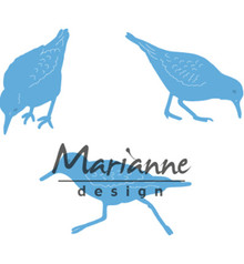 Marianne Design Creatable Tiny's Sand Pipers (LR0596)