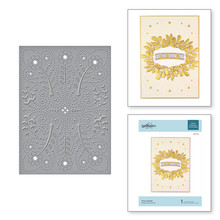 Spellbinders Floral Splash Cut & Embossing Folder (CEF-011)