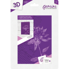 Gemini Chrysanthemum 3D Embossing Folder & Stencil (GEM-EF5-3D-CHRY)