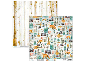 Mintay Wilderness 12x12 Inch Scrapbooking Paper Set (MT-WIL-07)