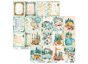 Mintay Wilderness 6x6 Inch Scrapbooking Paper Pad (MT-WIL-08)