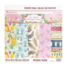 Craft Smith Hot Tropic 12x12 Inch Paper Pad (MPP0441)