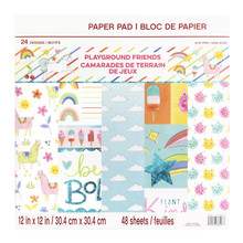 Craft Smith Playground Friends 12x12 Inch Paper Pads (MPP0443)