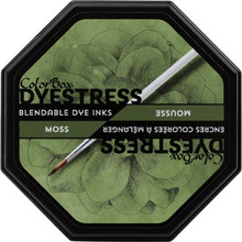 ClearSnap ColorBox® Dyestress Ink Pad Moss (23120)