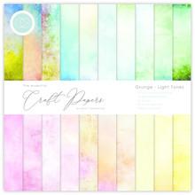 Craft Consortium Grunge Light Tones 12x12 Inch Paper Pad (CCEPAD008)