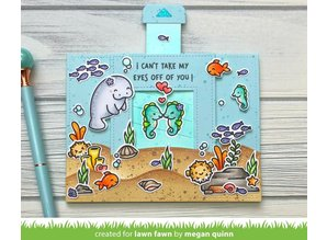Lawn Fawn Seahorsin' Around Clear Stamps (LF1967)