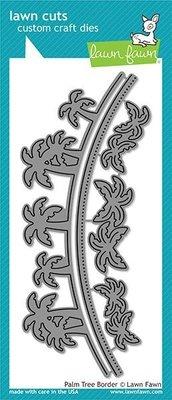 Lawn Fawn Palm Tree Border Dies (LF1981)
