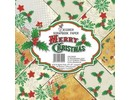Decorer Merry Christmas 8x8 Inch Paper Pack (DECOR-B19-404)