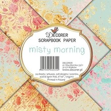 Decorer Misty Morning 6x6 Inch Paper Pack (DECOR-C29-232)
