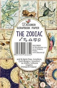 Decorer The Zodiac Paper Pack (7x10,8cm) (M64)
