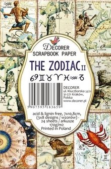 Decorer The Zodiac II Paper Pack (7x10,8cm) (M65)