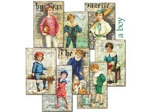 Decorer A Boy Paper Pack (7x10,8cm) (M68)