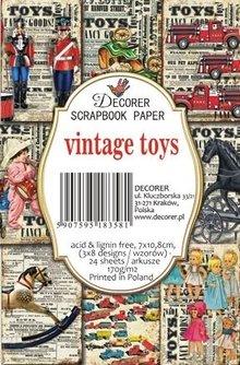 Decorer Vintage Toys Paper Pack (7x10,8cm) (M69)