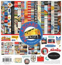 Carta Bella All Aboard 12x12 Inch Collection Kit (CBAA101016)