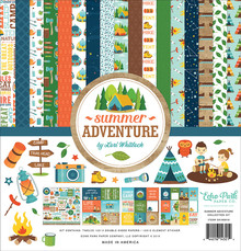 Echo Park Summer Adventure 12x12 Inch Collection Kit (SA180016)