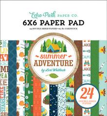 Echo Park Summer Adventure 6x6 Inch Paper Pad (SA180023)
