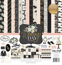 Echo Park Wedding Day 12x12 Inch Collection Kit (WD181016)