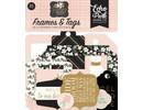 Echo Park Wedding Day Ephemera Frames & Tags (WD181025)