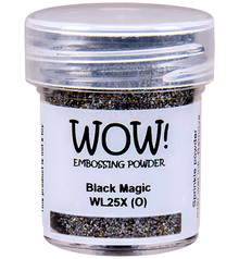 WOW! Black Magic Embossing Powder (WL25X)