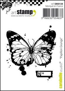 Carabelle Studio Papillon Grunge Cling Stamp (SMI0138)