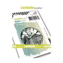 Carabelle Studio Ready for a Trip Cling Stamp (SMI0227E)