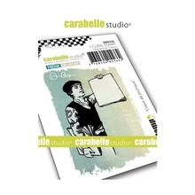 Carabelle Studio Crieur de Journaux Cling Stamp (SMI0228)