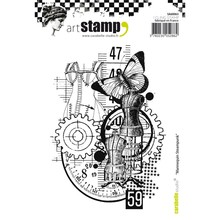 Carabelle Studio Mannequin Steampunk Cling Stamp (SA60063)