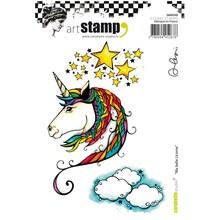 Carabelle Studio Ma Belle Licorne Cling Stamps (SA60348)