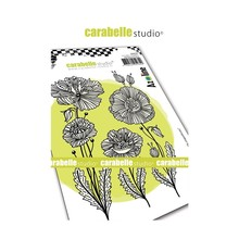 Carabelle Studio Gentils Coquelicots Cling Stamps (SA60439)