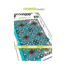 Carabelle Studio Blooms And Circles Pattern Cling Stamp (SA60440)