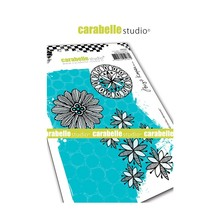 Carabelle Studio Blooms Circles Elements Cling Stamps (SA60442)