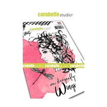 Carabelle Studio Dragonfly Wings Cling Stamps (SA60443E)