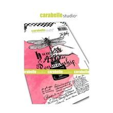 Carabelle Studio Artistic Permanship Cling Stamps (SA60446)