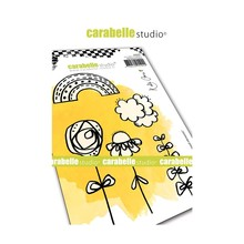 Carabelle Studio Crayoned Elements Cling Stamps (SA60447)