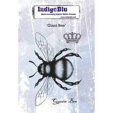 IndigoBlu Giant Bee A6 Rubber Stamp (IND0528)