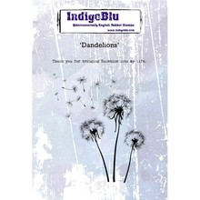 IndigoBlu Dandelions A6 Rubber Stamp (IND0529)