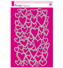Pronty Crafts Masking Stencil A4 Hearts (470.770.011)
