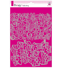 Pronty Crafts Masking Stencil A4 Cakes & Flowers (470.770.017)
