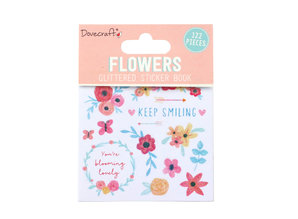 Dovecraft Flowers Sticker Book (DCSTB002)