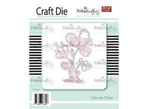 Polkadoodles Delicate Daisy Die (PD7547)